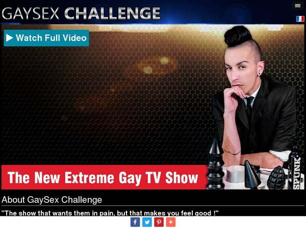 Gaysexchallenge.com Free Premium Accounts