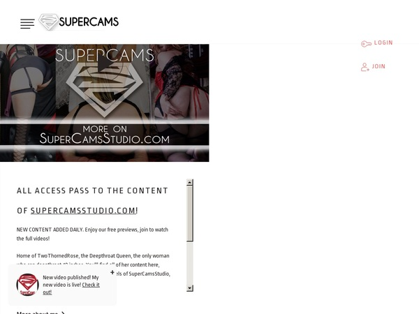 Pay For Super Cams
